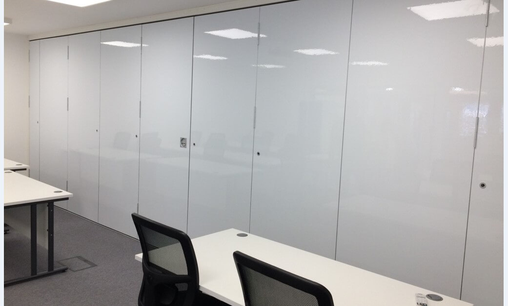 Moveable partitions by Sound Interiors